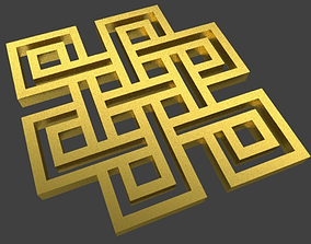 The Endless Knot Token 3D printable model