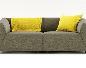 3D model THEA sofa by MDF Italia