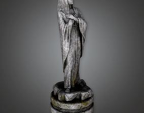 3D model Stone Statue Cemetery 7 CEM - PBR Game