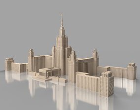Moscow state University 3D model