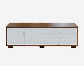 Charlet Design Sideboard 3D asset low-poly