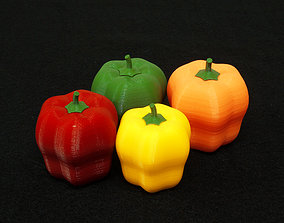 3D print model Paprika bell pepper