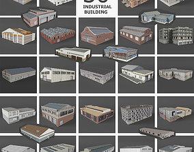 3D model 29 Industrial Buildings Warehouse Factory 1
