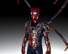 3D model Spider-Man - from Infinity War and Endgame