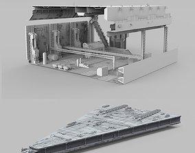 Sci-Fi architecture Elements collection 9 3D model