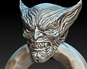 3D print model Vampire Wolverine Ring Design