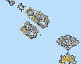 3D print model Hindu god temple Jewelry 051 to 100 total