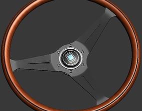 Nardi Torino - Wood Steering wheel 3D model