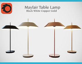 3D model game-ready Mayfair LED Table Lamp