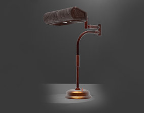 Desk lamp 3D retro