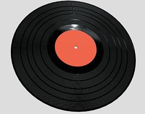 3D asset game-ready Vinyl Record