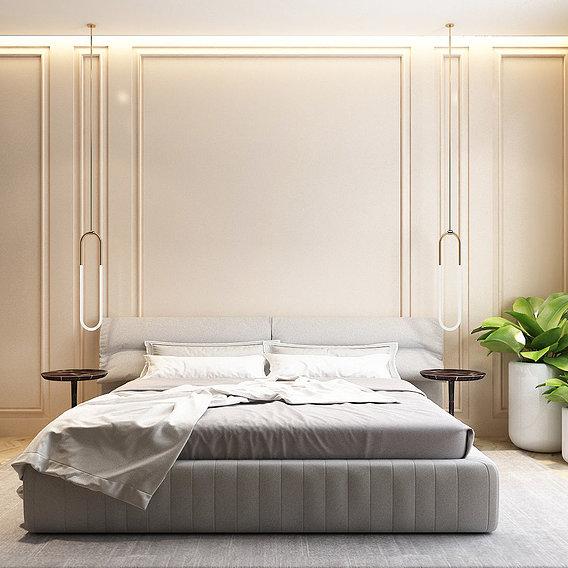 Bedroom neoclassic style
