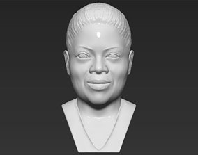 Oprah Winfrey bust 3D printing ready stl obj