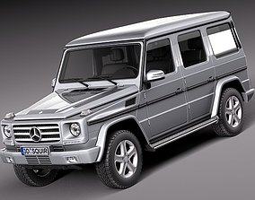 Mercedes G-class 2013 3D model