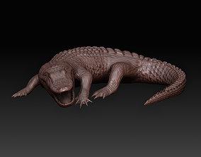 art Aligator 3D printable model