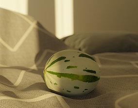 3D asset Photorealistic Gaya Melon