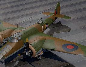 Bristol Blenheim Mk-5 Bisley 3D blenheim