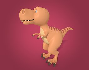 3D asset Cartoon Dinosaur - TRex