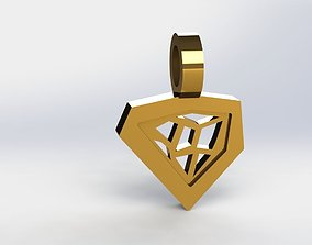 build 3D print model Architect Pendant