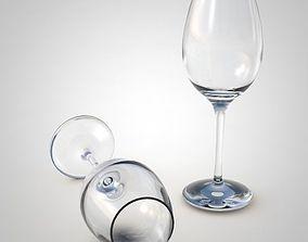 glasses 3D model Wine Glass