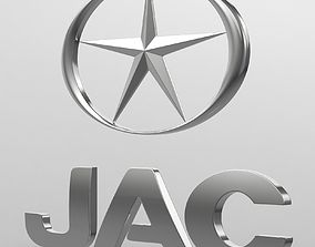 jac logo cars 3D model