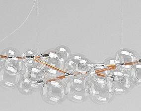 3D model Pelle Long Bubble Chandelier