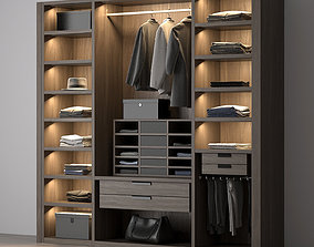 Poliform wardrobe 3D