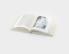 Open book 3D magazine