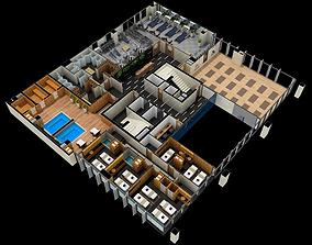 3D model AQ Spa center