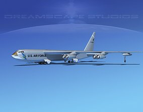 Custom Boeing B-52C Stratofortress 3D model