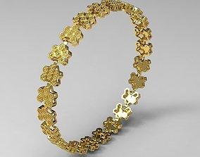 3D print model Bracelet Hive for Women