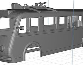 Trolebus Bilbao Body Shell 3D printable model