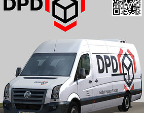 Volkswagen Crafter DPD 3D model