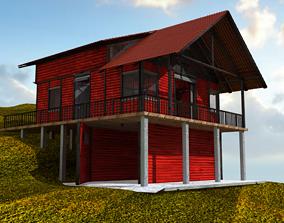 3D Rural cottage