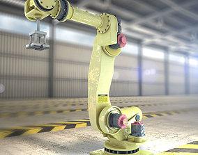 Robot Arm 3D asset