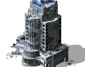 The future world - street waste 02 3D