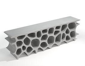 Low Voronoi Shelf - London - Marc Newson 3D model