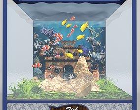 desing Aquarium 3D model