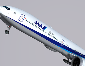 3D asset Boeing 777-9x ANA All Nippon Airways