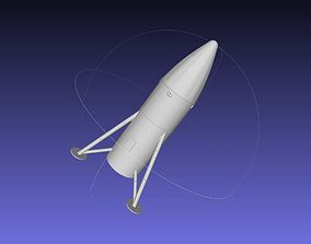 Space-X Steel Starship BFS 2019 3D printable model 2