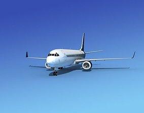 Boeing 737-800 BBJ 2 3D model