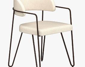 Jacques Quinet chair 3D model