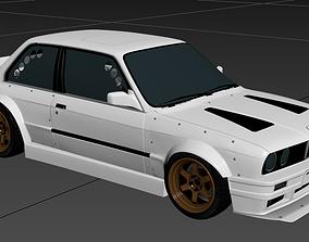 e30 body kit 3D model