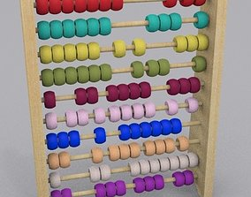 Abacus for Children 3D model