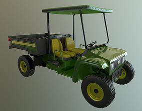 3D asset John Deere Gator