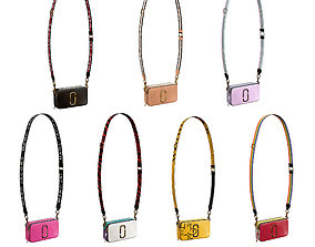 3D model PBR Marc Jacobs Snapshot Bag