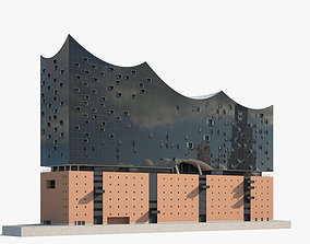 3D Elbphilharmonie