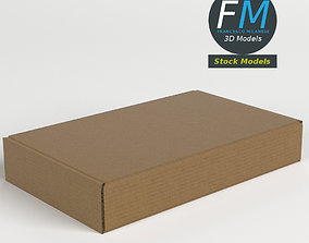 3D Closed carton box