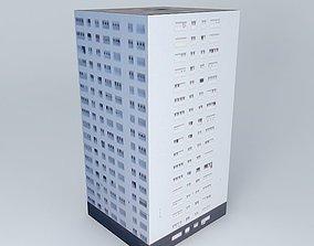 Building located Rouen France 3D model