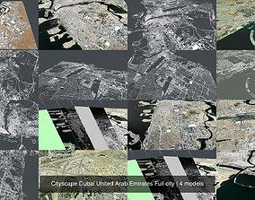 Cityscape Dubai United Arab Emirates Full 3D model